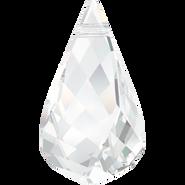 Swarovski Pendant 6020 - 18mm, Crystal (001), 36pcs