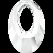 Swarovski Pendant 6040 - 20mm, Crystal (001), 72pcs