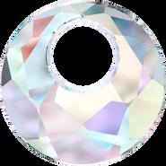 Swarovski Pendant 6041 - 38mm, Crystal Aurore Boreale (001 AB), 6pcs