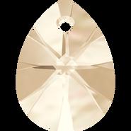 Swarovski Pendant 6128 - 10mm, Light Silk (261), 144pcs