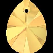 Swarovski Pendant 6128 - 8mm, Crystal Metallic Sunshine (001 METSH), 144pcs