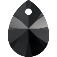 Swarovski Pendant 6128 - 8mm, Jet (280), 144pcs