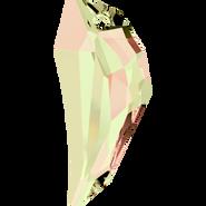 Swarovski Pendant 6150 - 50mm, Crystal Luminous Green (001 LUMG), 9pcs