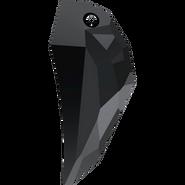 Swarovski Pendant 6150 - 50mm, Jet (280), 9pcs