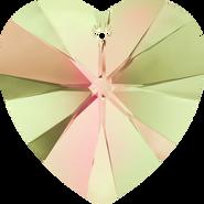 Swarovski Pendant 6228 - 28mm, Crystal Luminous Green (001 LUMG), 16pcs