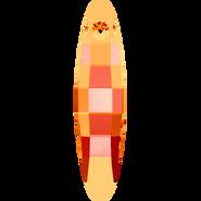 Swarovski Pendant 6470 - 32mm, Crystal Astral Pink (001 API), 36pcs