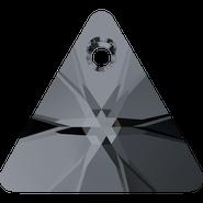 Swarovski Pendant 6628 - 12mm, Crystal Silver Night (001 SINI), 144pcs