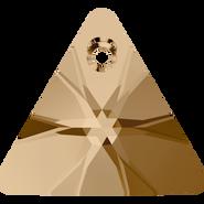 Swarovski Pendant 6628 - 16mm, Crystal Golden Shadow (001 GSHA), 72pcs