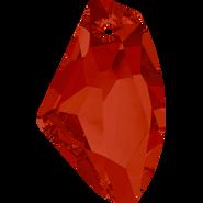 Swarovski Pendant 6656 - 39mm, Crystal Red Magma (001 REDM), 6pcs