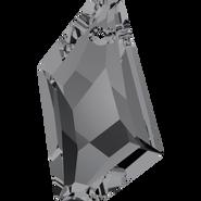 Swarovski Pendant 6670 - 24mm, Crystal Silver Night (001 SINI), 48pcs