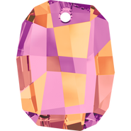 Swarovski Pendant 6685 - 38mm, Crystal Astral Pink (001 API), 6pcs