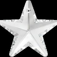 Swarovski Pendant 6714 - 40mm, Crystal (001), 6pcs