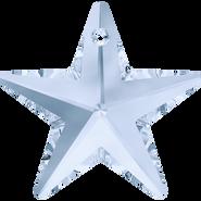 Swarovski Pendant 6714 - 40mm, Crystal Blue Shade (001 BLSH), 6pcs