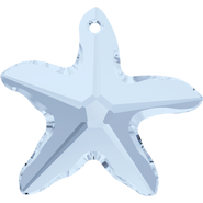 Swarovski Pendant 6721 - 28mm, Crystal Blue Shade (001 BLSH), 12pcs