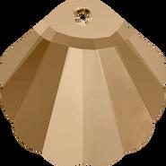 Swarovski Pendant 6723 - 16mm, Crystal Golden Shadow (001 GSHA), 96pcs