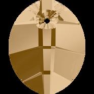 Swarovski Pendant 6734 - 14mm, Crystal Golden Shadow (001 GSHA), 108pcs
