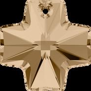 Swarovski Pendant 6866 - 20mm, Crystal Golden Shadow (001 GSHA), 72pcs