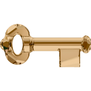 Swarovski Pendant 6919 - 30mm, Crystal Golden Shadow (001 GSHA), 36pcs