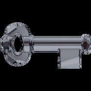 Swarovski Pendant 6919 - 30mm, Crystal Silver Night (001 SINI), 36pcs