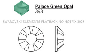 Swarovski 2028# - 5 Palace Green Opal, F, 1440pcs, (33-4) Foiled