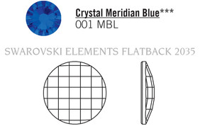 Swarovski 2035# - 20mm Crystal, BB UF, 40pcs, (6-5)