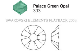 Swarovski 2058# - 12ss Palace Green Opal, F, 1440pcs, (5-3) Foiled