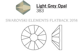 Swarovski 2058# - 16ss Light Grey Opal, F, 1440pcs, (4-4) Foiled