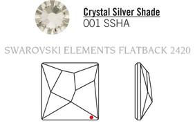 Swarovski 2420# - 25mm Crystal, SSHA, F, 32pcs, (22-5)