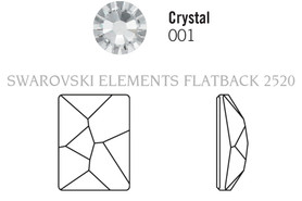 Swarovski 2520# - 8x6mm Crystal, 288pcs, (8-8)