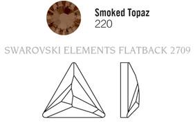 Swarovski 2720# - 9mm Smoked Topaz, M, HF, 180pcs, (6-8)