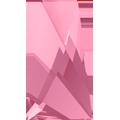 Swarovski 2770# - 16x9.5mm Light Rose, M, HF, 72pcs, (8-11)