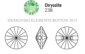 Swarovski 3015# - 10mm Chrysolite, M, 72pcs, (8-2) Unfoiled