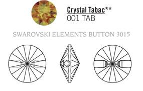 Swarovski 3015# - 10mm Crystal, TABAC, M, 72pcs, (8-11) Unfoiled