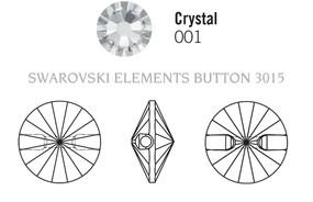 Swarovski 3015# - 16mm Crystal, 24pcs, (33-5)