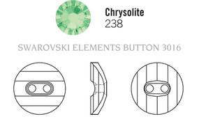 Swarovski 3016# - 12mm Chrysolite, M, 48pcs, (8-9) Unfoiled