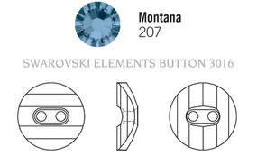 Swarovski 3016# - 12mm Montana, M, 48pcs, (7-3) Unfoiled