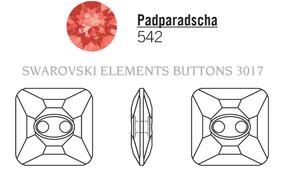Swarovski 3017# - 12mm , Padparadscha M, 48pcs, (8-12)