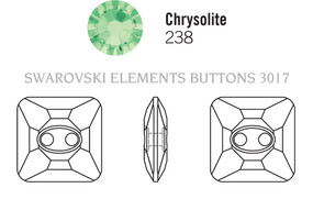 Swarovski 3017# - 12mm Chrysolite, M, 48pcs, (8-12) Unfoiled