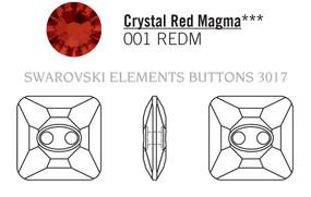 Swarovski 3017# - 12mm Crystal, REDM, M, 48pcs, (7-9)