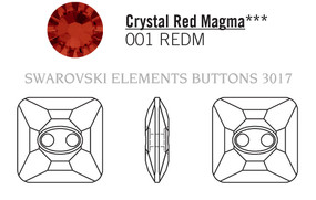 Swarovski 3017# - 14mm Crystal, REDM, M, 36pcs, (7-12)