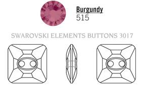 Swarovski 3017# - 16mm Burgundy, M, 24pcs, (7-6) Unfoiled