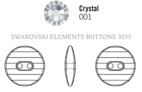 Swarovski 3035# - 14mm Crystal, M, 36pcs, (8-6)