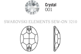 Swarovski 3210# - 10X7mm Crystal, V, 72pcs, (18-11)