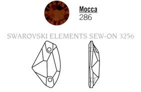 Swarovski 3256# - 19X11.5mm Mocca, F, 96pcs, (19-8)