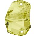 Swarovski 3257# - 19x13mm Jonquil, F, 24pcs, (7-7) Foiled
