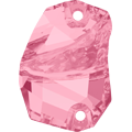 Swarovski 3257# - 19x13mm Light Rose, F, 24pcs, (7-4) Foiled