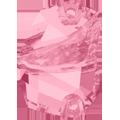 Swarovski 3257# - 27x19mm Light Rose, F, 20pcs, (7-4) Foiled