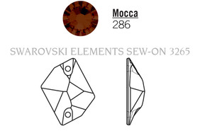 Swarovski 3265# - 20X16mm Mocca, F, 72pcs, (19-1) Foiled