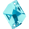 Swarovski 3265# - 26X21mm Aquamarine, F, 20pcs, (19-2) Foiled