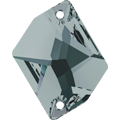 Swarovski 3265# - 26X21mm Black Diamond, F, 20pcs, (19-2) Foiled